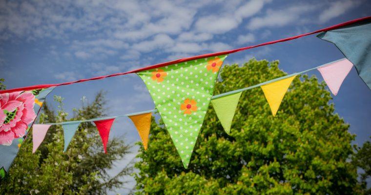 Vlag bedrukken: maak van je feest iets moois
